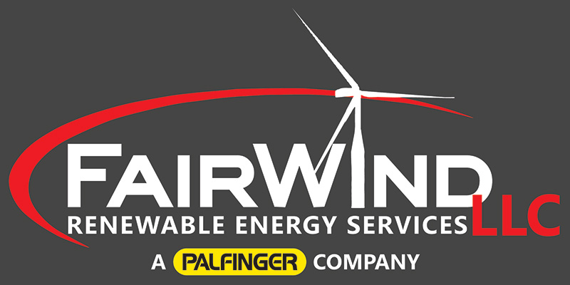 FairWind Renewable Energy Services, a Palfinger AG Company logo